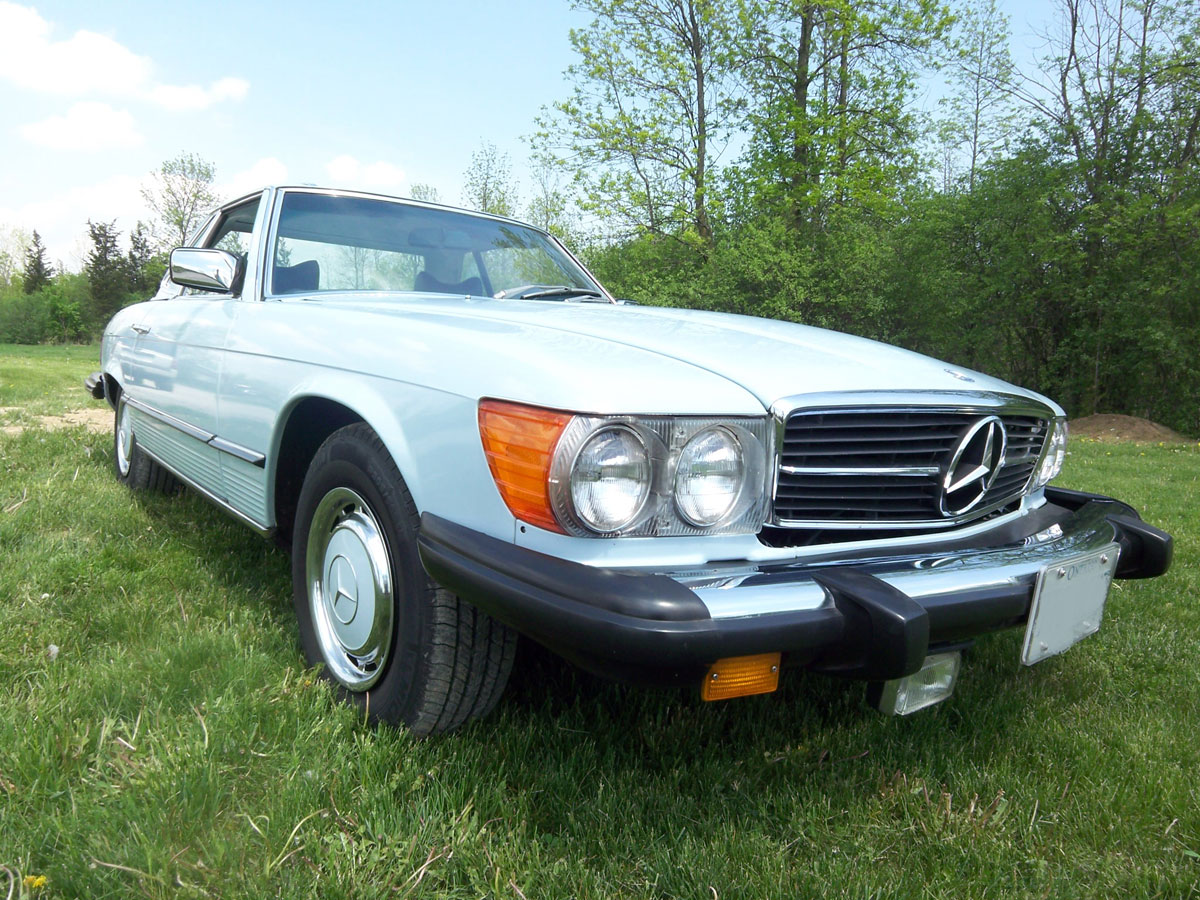 1976 mercedes benz 450 sl bramhall classic autos for 1976 mercedes benz for sale