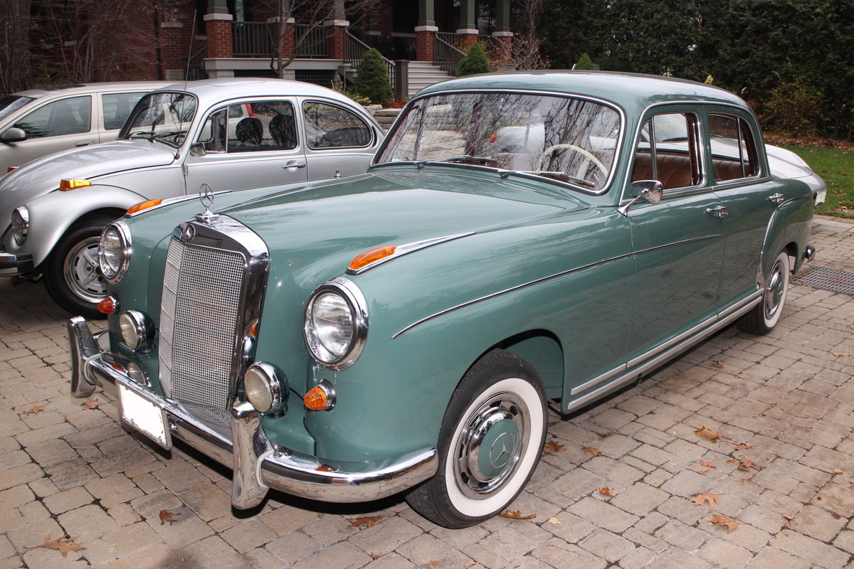 1954 mercedes benz 220s bramhall classic autos for 1953 mercedes benz 220 sedan for sale