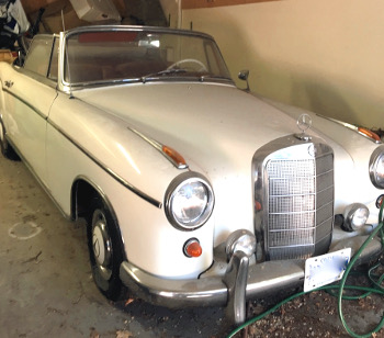 FOR SALE: 1959 Mercedes-Benz 220S Cabriolet