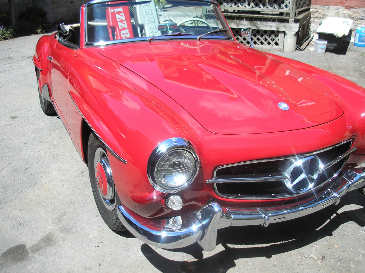 1961 mercedes benz 190sl roadster bramhall classic autos for 190 mercedes benz for sale