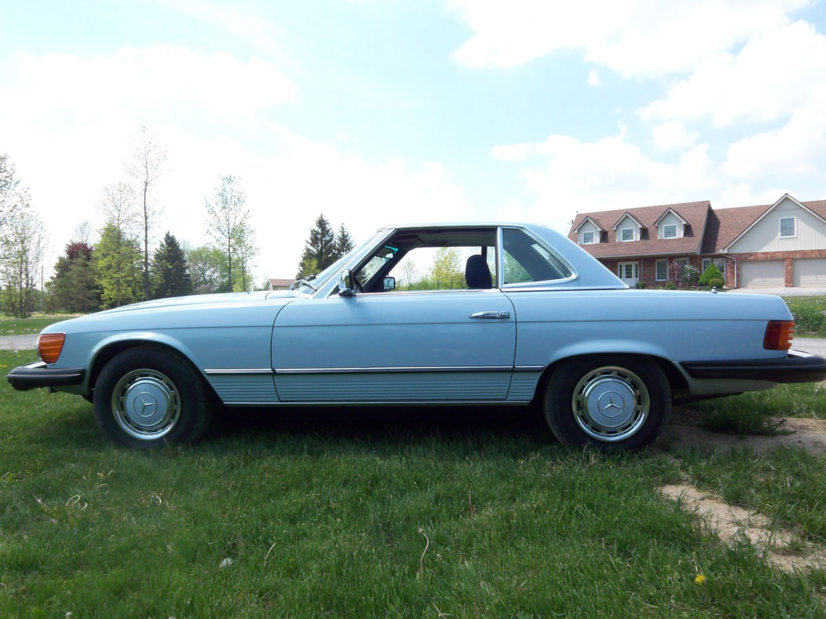 1976 mercedes benz 450 sl 003 1976 mercedes benz 450 sl bramhall classic autos 1973 Mercedes 450SEL at crackthecode.co