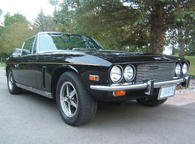 1974 JENSEN INTERCEPTOR III CONVERTIBLE
