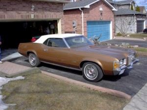 1971 Mercury Cougar XR7 Convertible FOR SALE