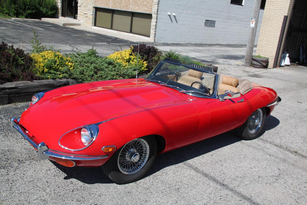 1969 Jaguar E Type Roadster FOR SALE