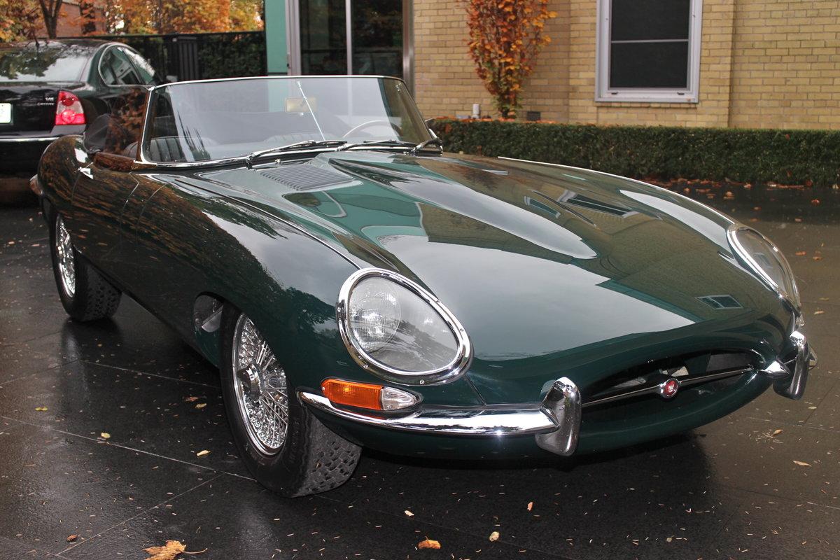 1965 Jaguar E Type Roadster - Bramhall Classic Autos