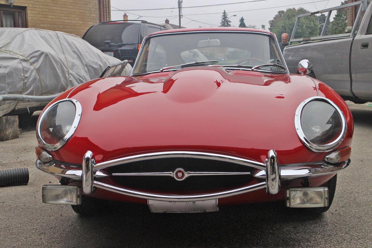 1967 Jaguar E Type Coupe Series I