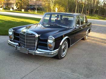 1969 Mercedes Benz 600 SWB