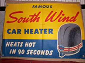 South Wind Gas Heater Poster