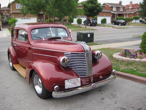 1938 Pontiac 2 Door Sedan Bramhall Classic Autos