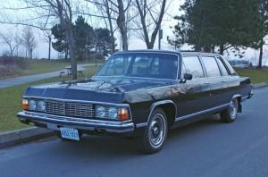 1987 GAZ Tchaika 14 Limousine