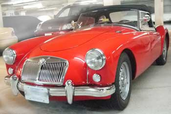 1957 MGA we have for sale