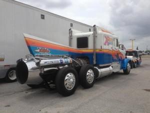 Custom Freightliner - modified vehicle