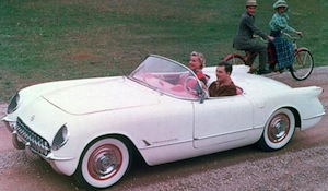 1954 Corvette wanted