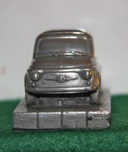Fiat 500 Aluminum Model