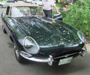Green 1966 Jaguar XKE Series I Roadster For Sale