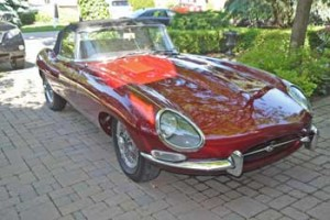 Red 1967 E Type Roadster For Sale
