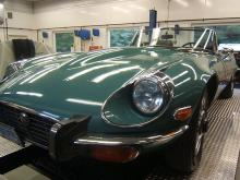 Green 1973 Jaguar XKE Series III Roadster For Sale