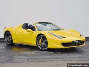 For Sale: 2013 Ferrari 458 Spider