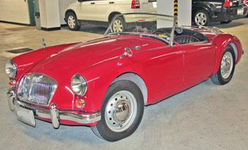 1962 MGA 1600