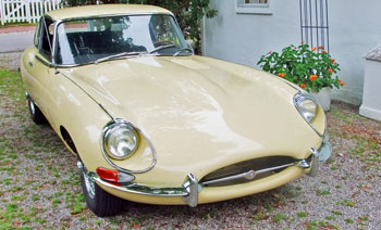 1968 Jaguar E Type 2+2 Manual Transmission