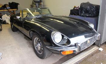 1974 Jaguar E Type Roadster RHD width=