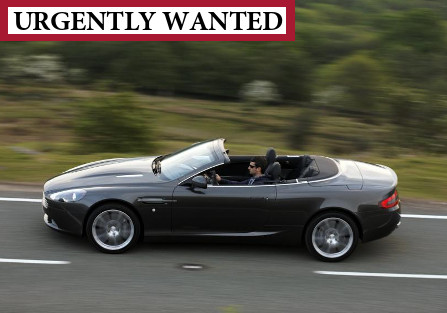 Wanted: Aston Martin Volante 2005-07