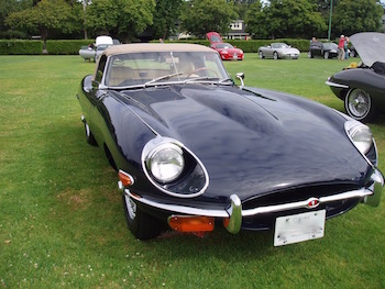 1969 Jaguar E Type Series 2 Roadster